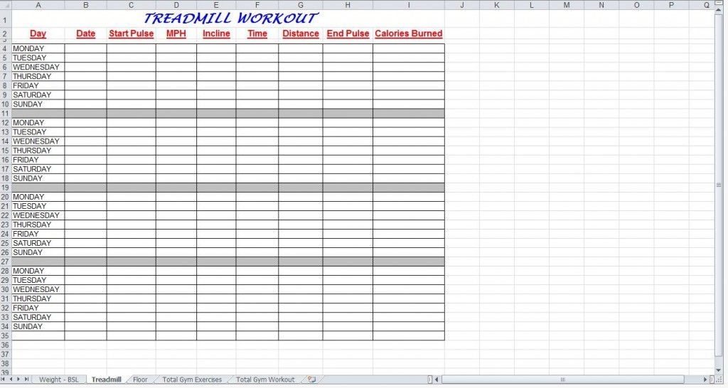 Jpeg Total Gym Workout Plan Spreadsheet From Exercise Planner