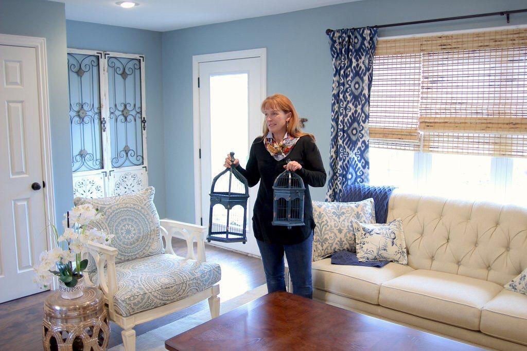 Hgtv good bones accent wall downstairs hgtv good bones pinterest good bones hgtv good for Downstairs living room ideas