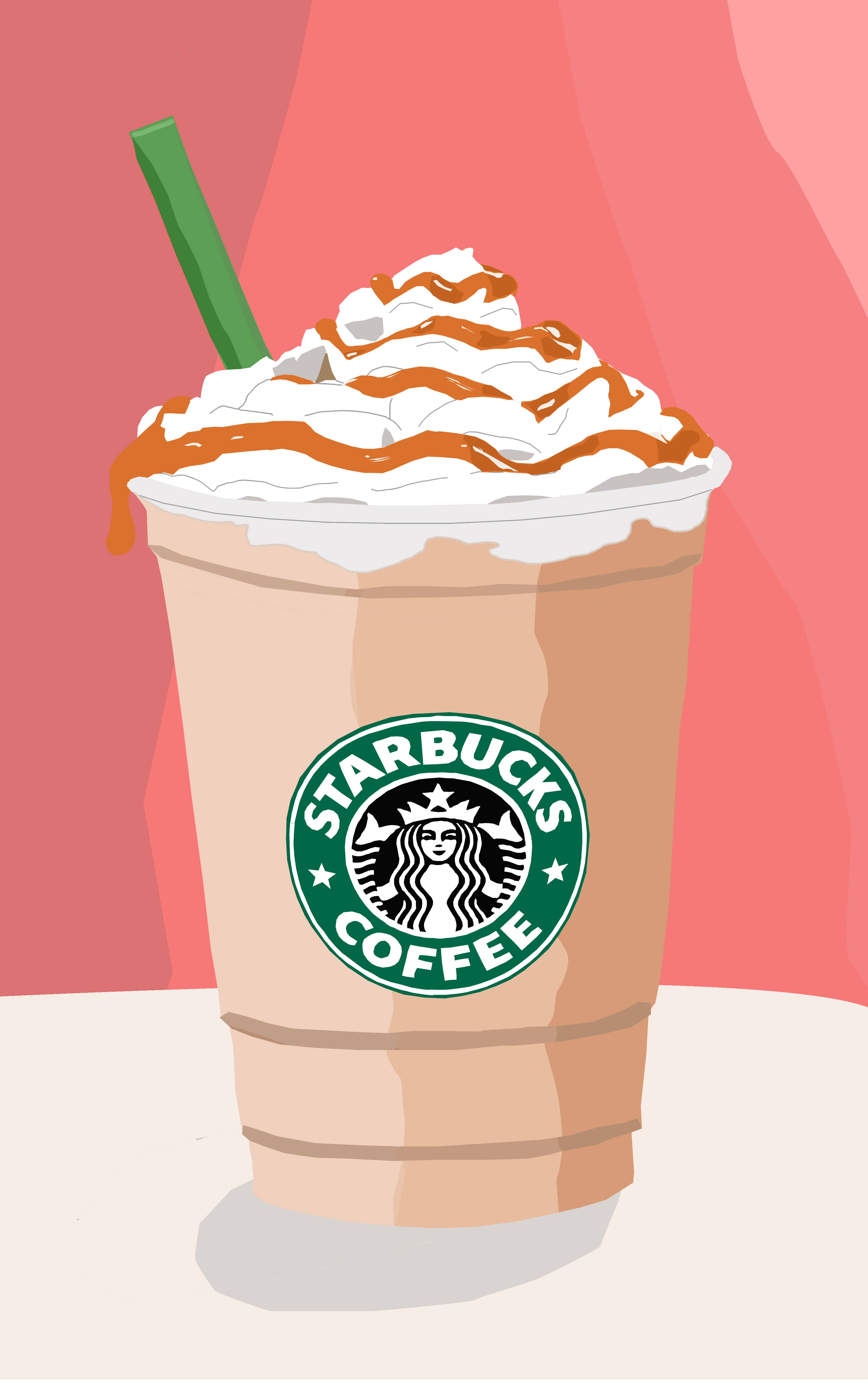 I love starbucks! My first vector selfmade D Starbucks