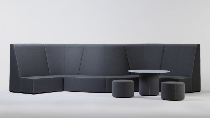 The Neighbourhood Series Includes Modular Sofas Connected
