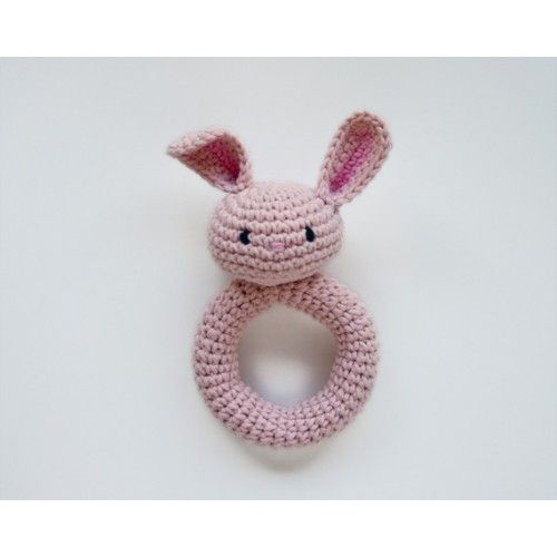 Bunny Rattle Crochet Pattern from One and Two Company | Nens i ...