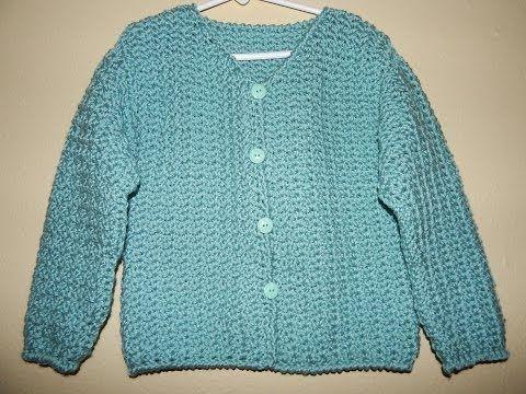 Sueter con Botones para Niña Crochet parte 2   Craft Ideas   Pinterest
