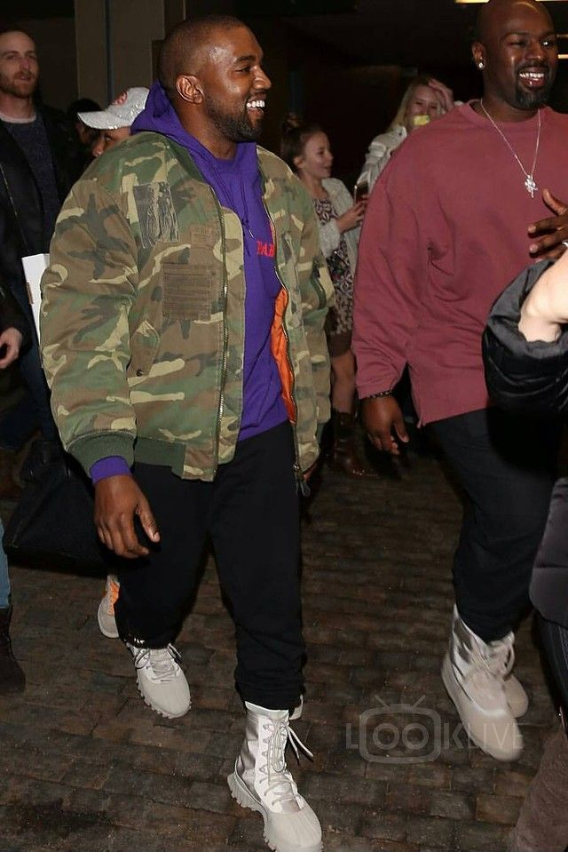 5456d9e4d Kanye West - Enjoying the suprise family ski vacation on in 2019 ...