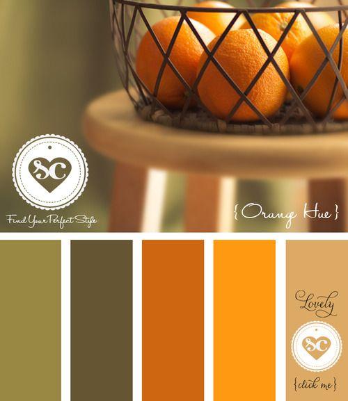 023 Orange Hue by Asmalina© 2012 Sorbetcolour ™ | Paint ...