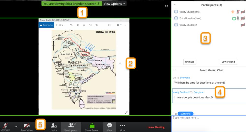 How Do I Navigate A Zoom Meeting Interface Brightspace Vanderbilt University Interface Navigation Couple Questions