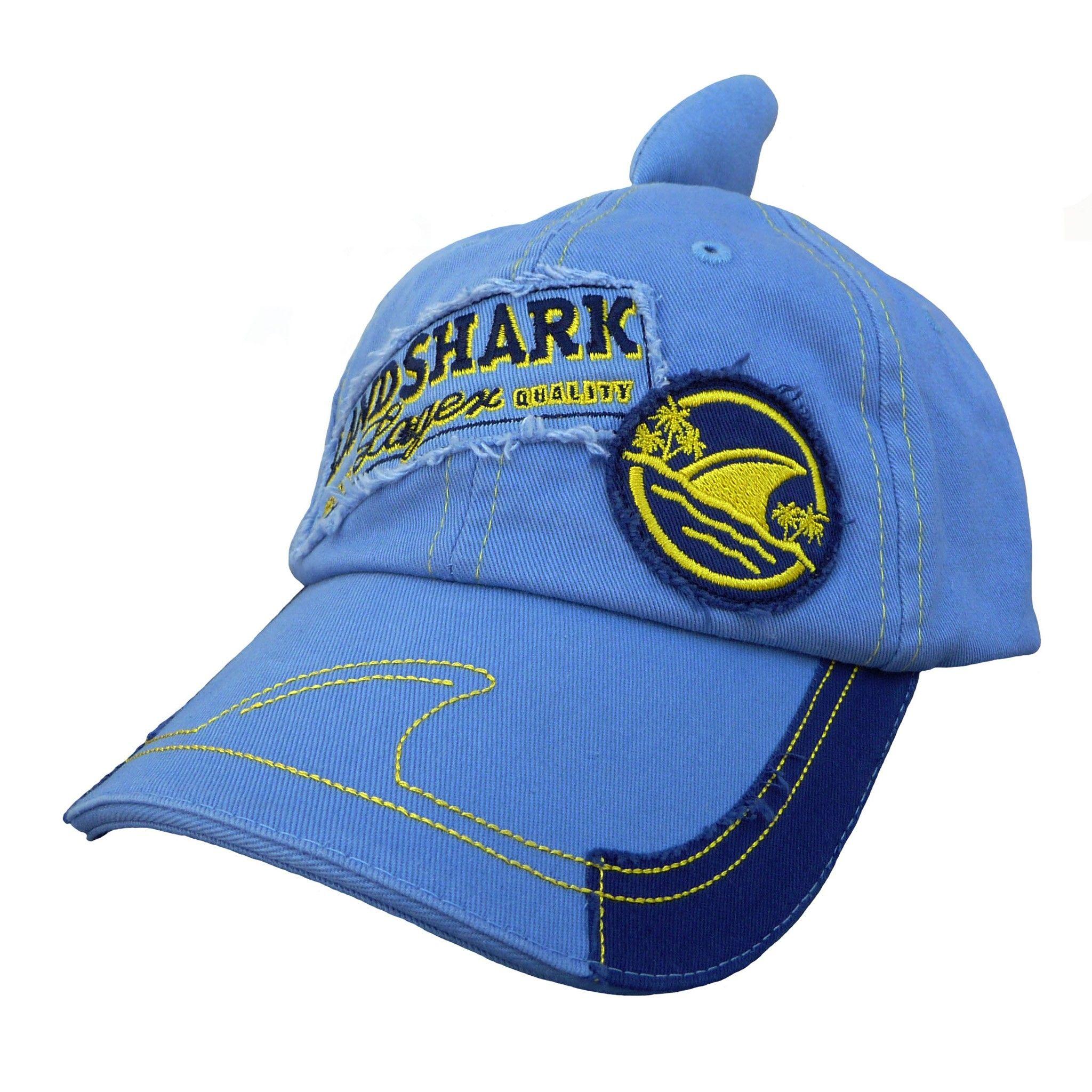 // Landshark Fin Cap Shark week, Cap, Baseball hats