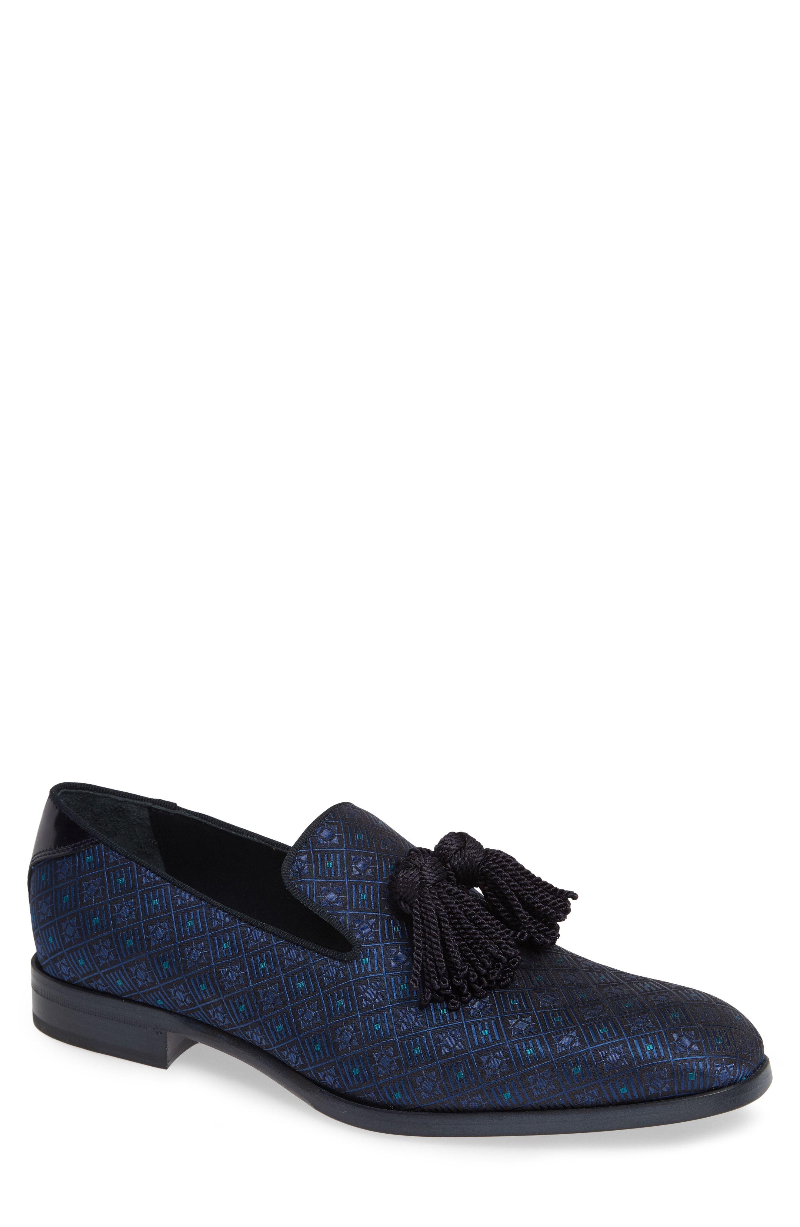d636f41a859 JIMMY CHOO  FOXLEY  OMBRE GLITTER TASSEL LOAFER.  jimmychoo  shoes ...