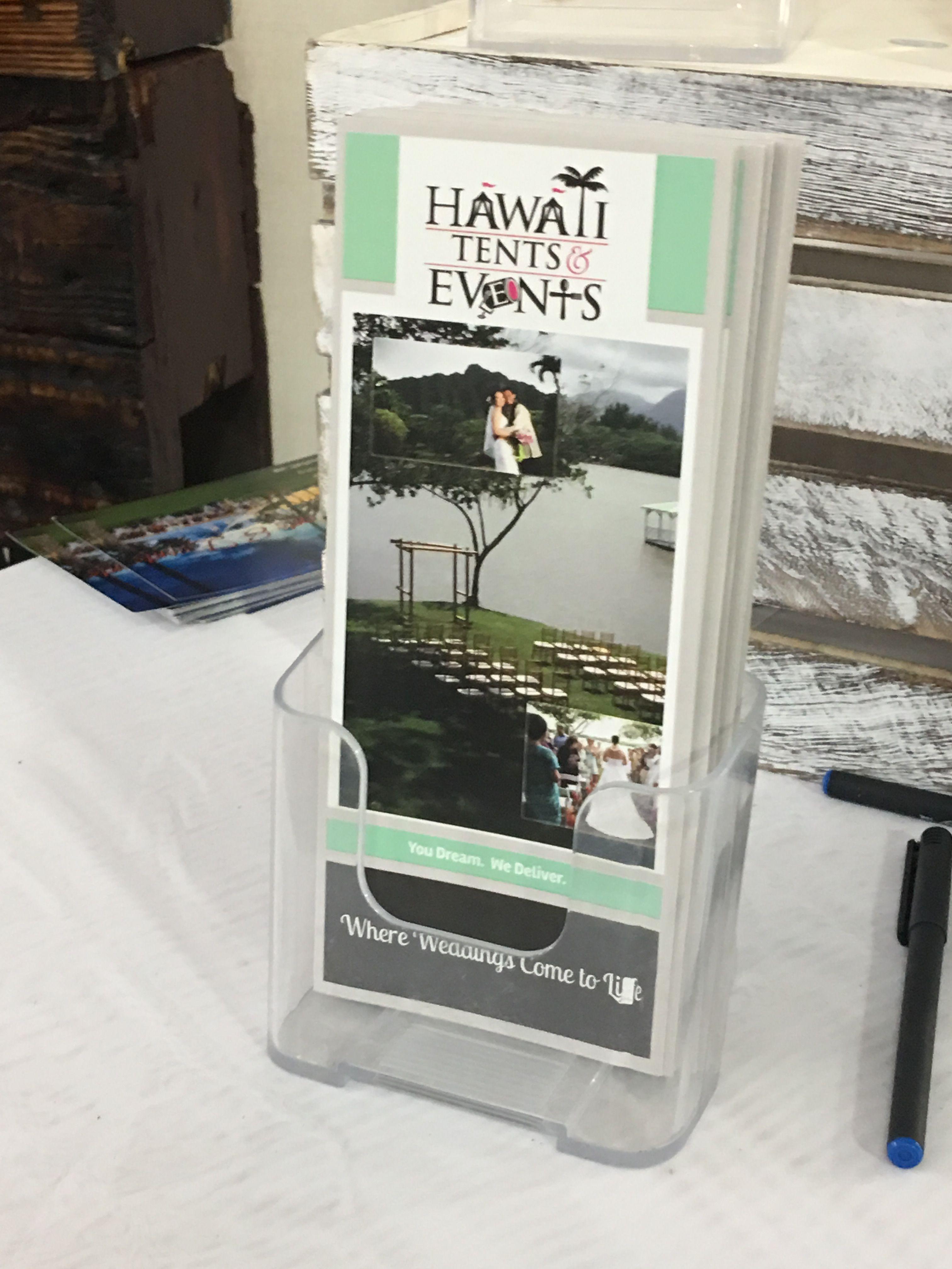 Hawaii Tents and Events at the #hawaiibridalexpo @bridesclub @bradbuckles