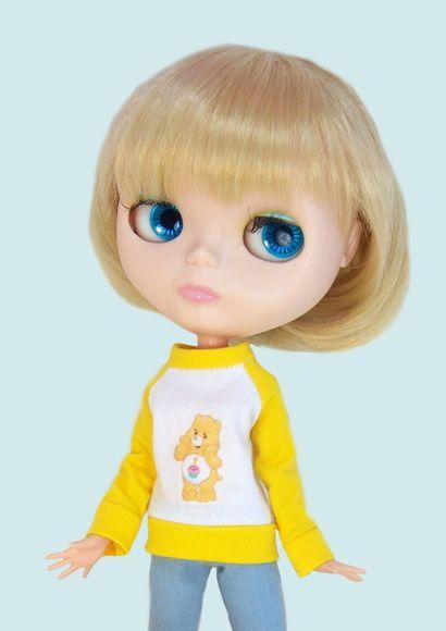Blusão Ursinho amarelo
