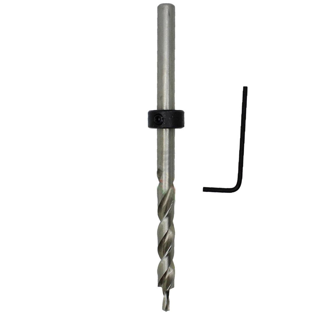 1pcs New Brand Carpentry Jig Pilot Twist Step Drill Bit