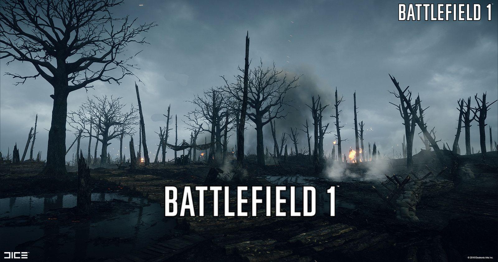 Battlefield 1 No Mans Land Simon Barle On Artstation At Https