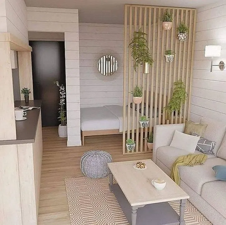 70 delicate tiny apartment design ideas that are so ...