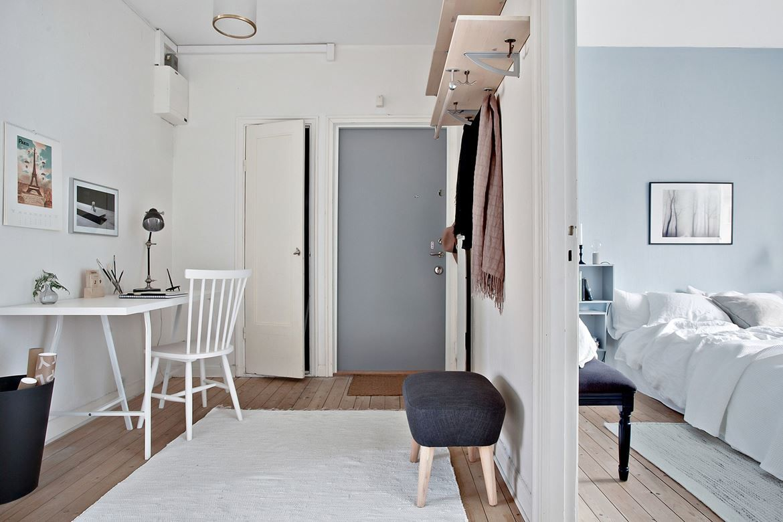 Soft coloured Scandinavian apartment Follow Gravity Home