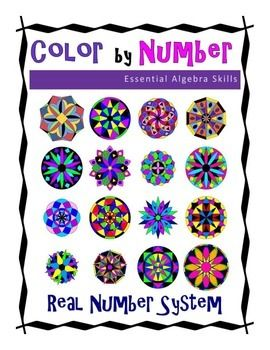 The Real Number System Color By Number Polynomials Real Number System Adding And Subtracting Polynomials