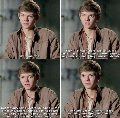 Thomas Sangster on what the audience should look forward to in 'The Scorch Trials'
