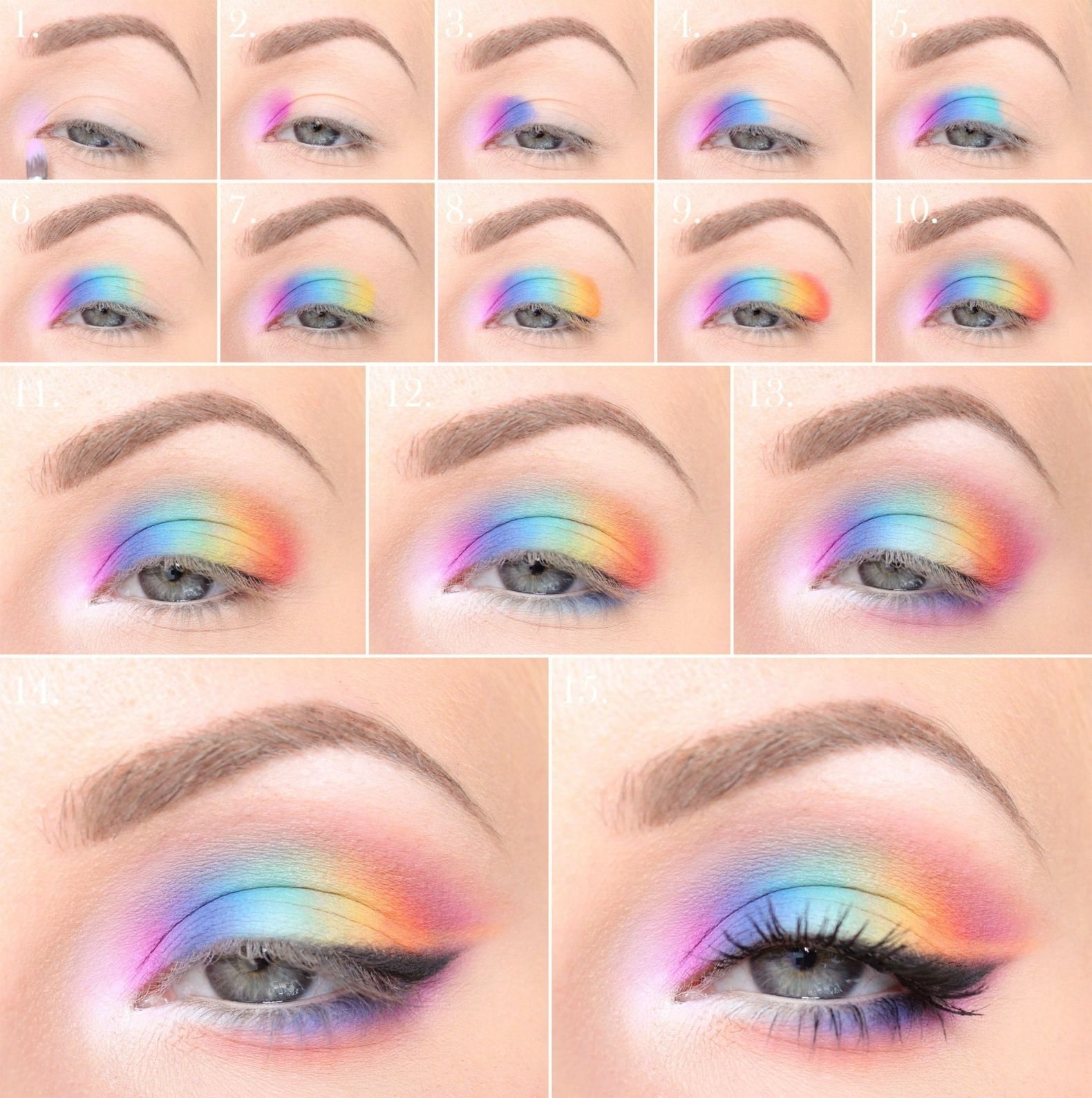 80er Jahre Make-Up Anleitung und viele Tipps zum Schminken 80er Style!