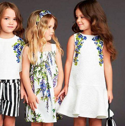 SS15 Dolce & Gabbana Kids   Applique - kids   Kids fashion ...