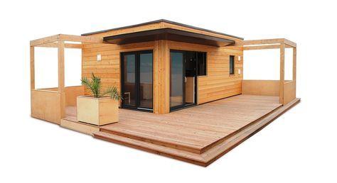 studio de jardin, bureau de jardin, dependance de maison Chalet en