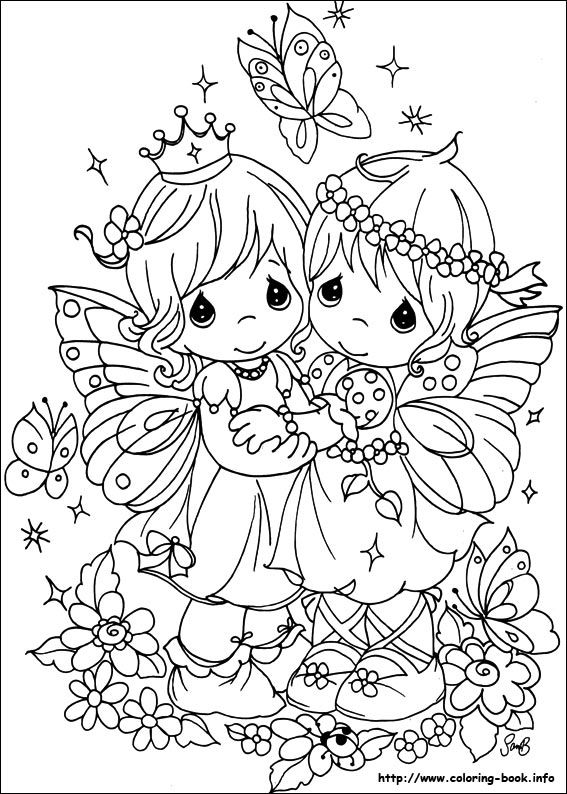 Precious Moments coloring picture | Draw Something! | Precioso ...