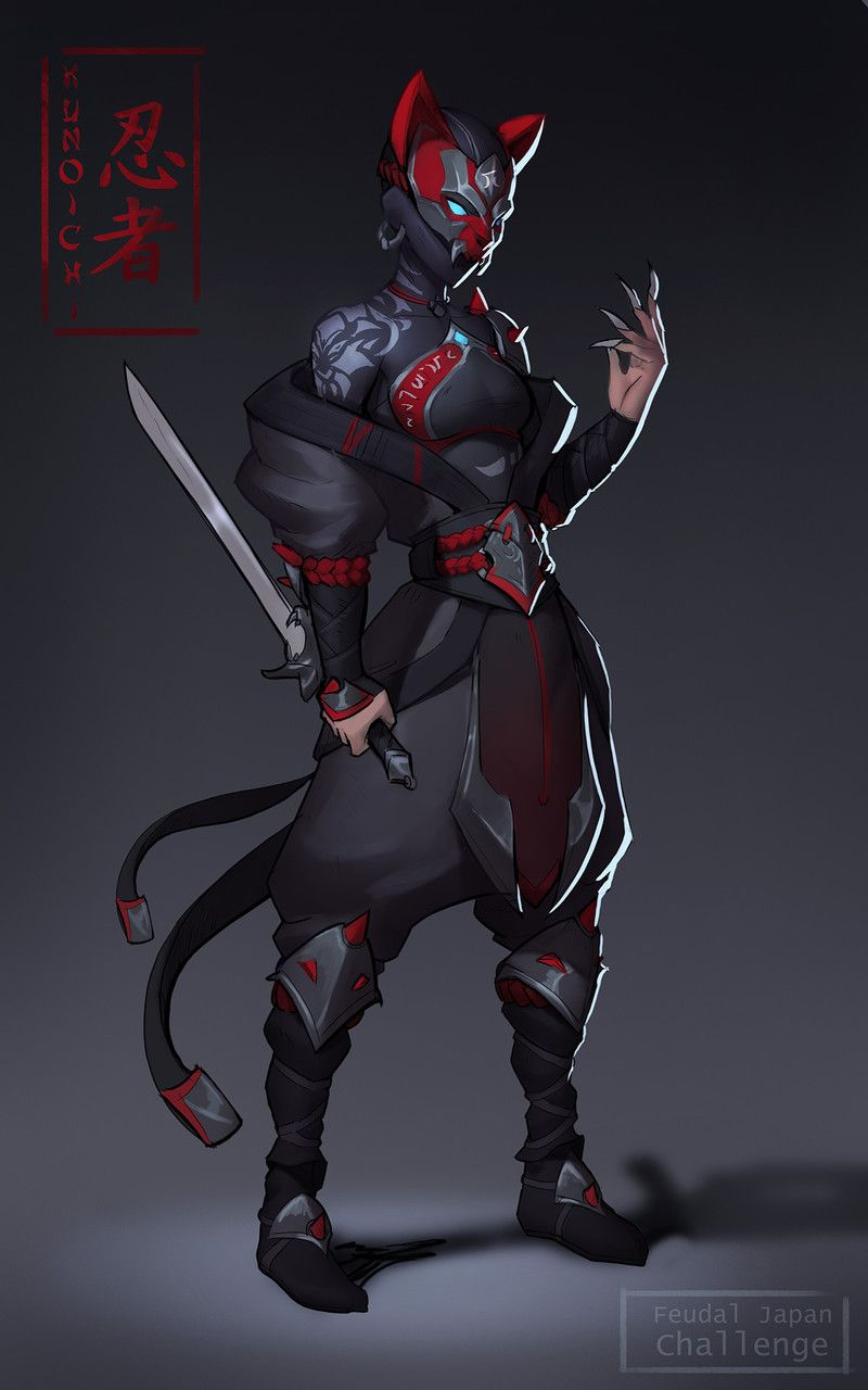 ArtStation - Moritz Cremer's submission on Feudal Japan: The Shogunate - Character Design