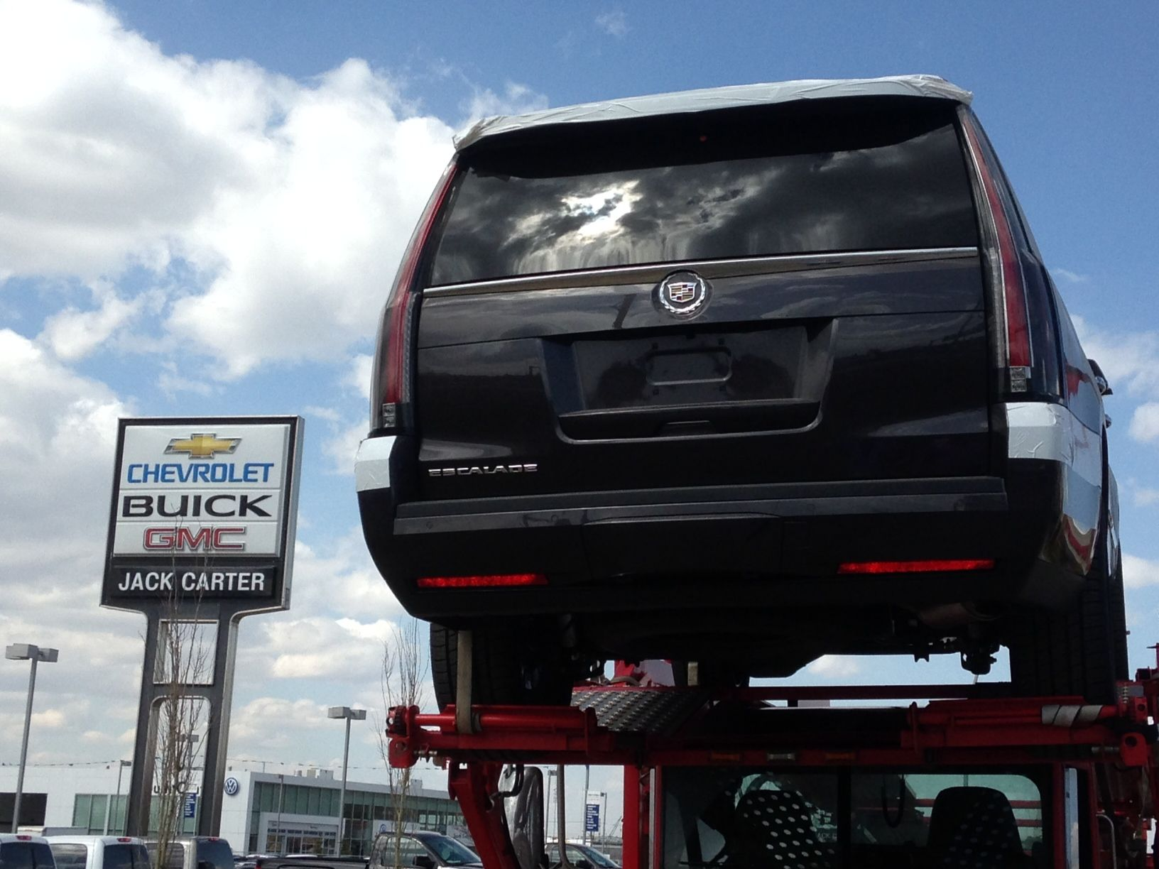 We just received our first 2015 Escalade ESV. Come visit us to get a ...