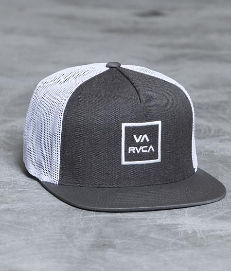 217daa2d2 RVCA All The Way Trucker Hat | my wants | Hats, Hats for men, Mens ...