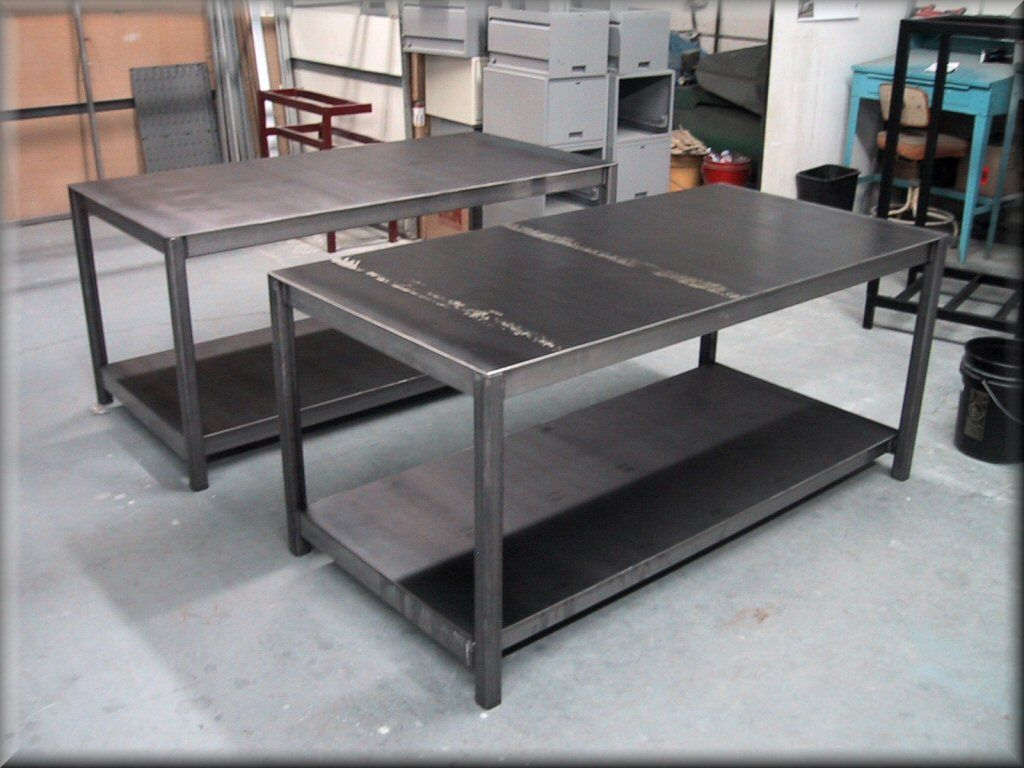 Homemade Steel Table For Garage Yahoo Image Search