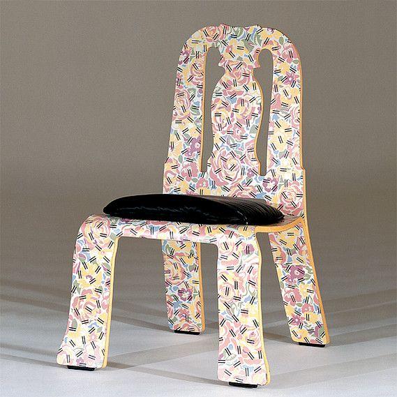 Name Queen Anne Side Chair Designer Robert Venturi Year 1979 - 1984 Country USA & venturi queen anne chair - Google Search | Memphis Etc. | Pinterest ...