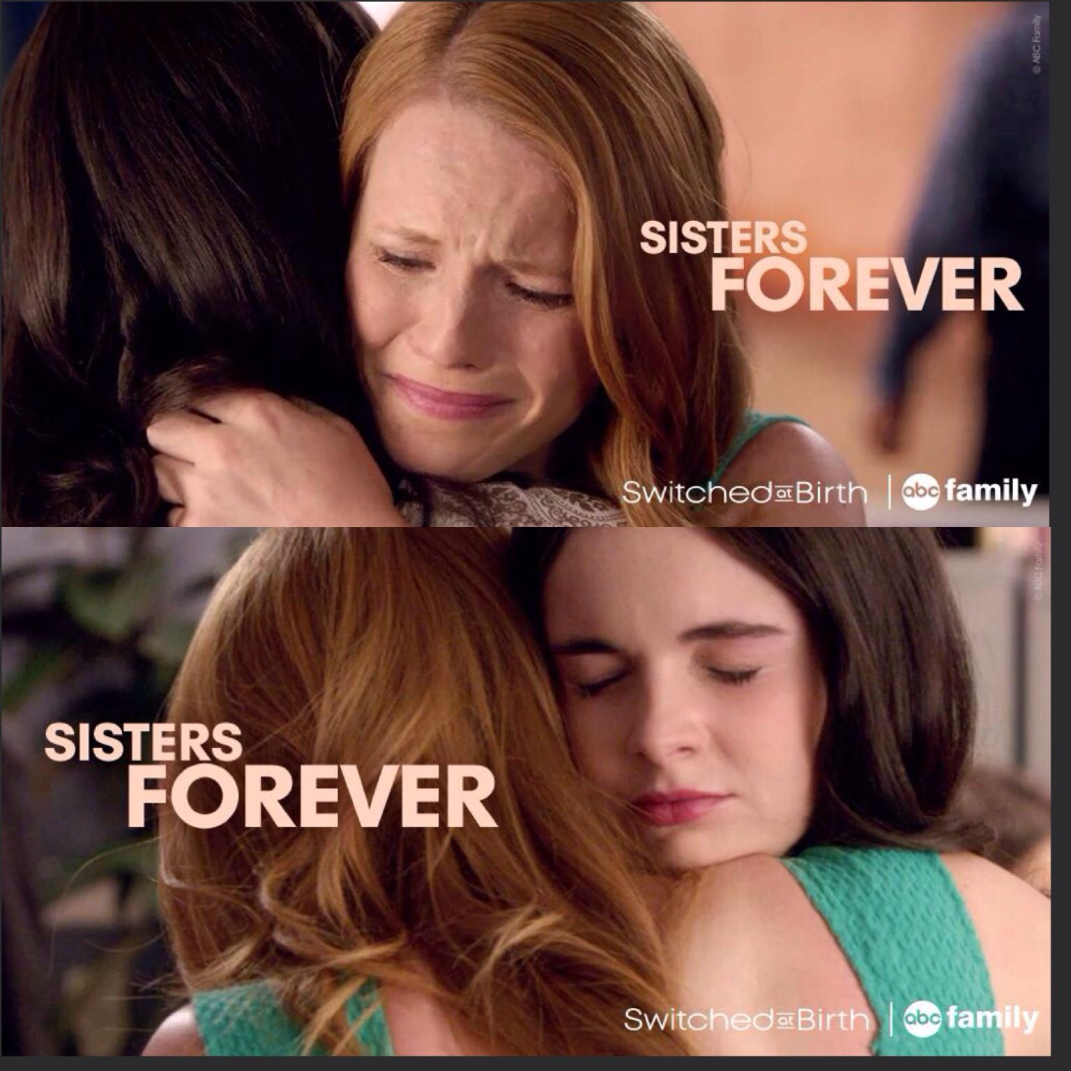 So sweet! Switched At Birth cliffhanger season finale.