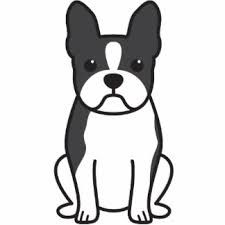 Boston Terrier Clip Art 的图片搜索结果 Boston Terrier Wall Art Cartoon Dog Boston Terrier Decor