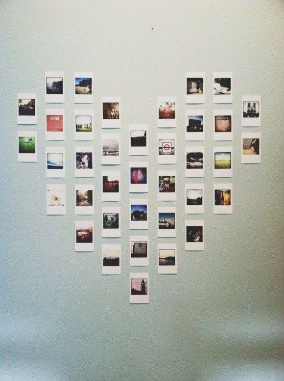 5 Diy Projects To Turn Your Photos Into Wall Art Room Diy Polaroid Display Diy Room Decor