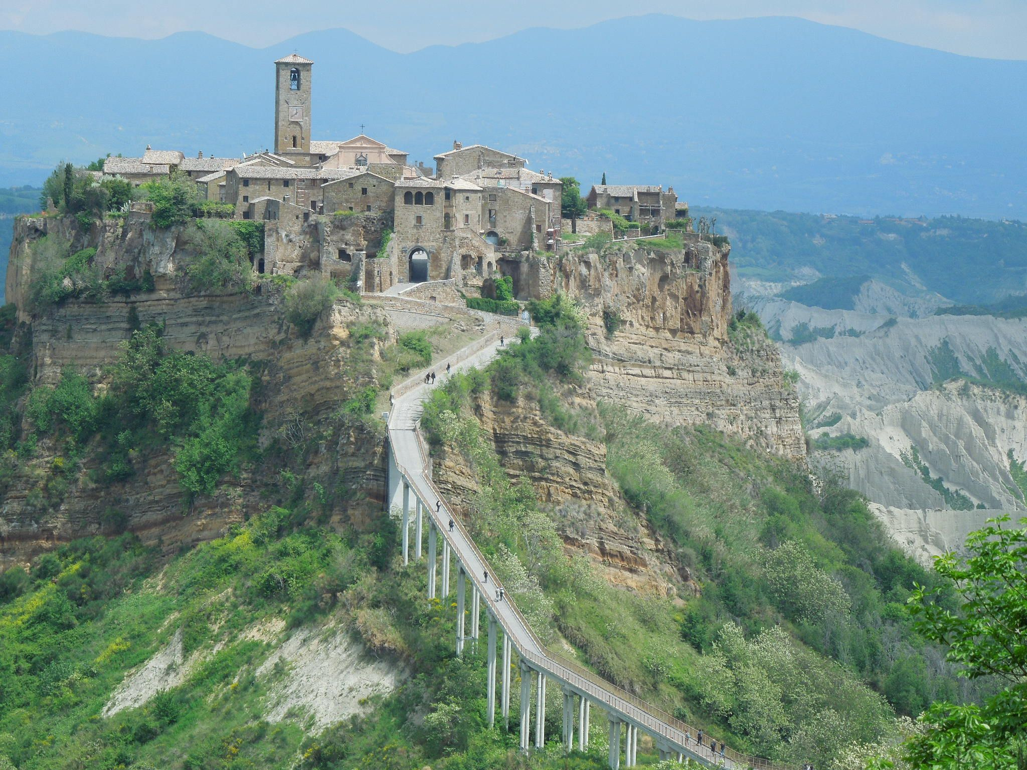 Civita Di Bagnoregio Another Of The World S Wonders It S A