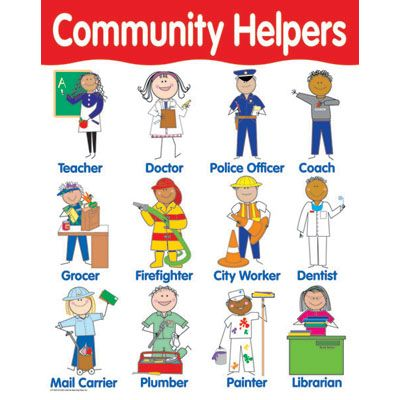 39 Community Helpers Vocabulary Words