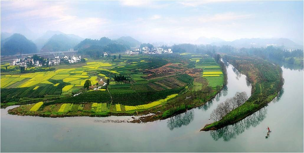 Surrounded By Canoloa Feilds Quotes: Wuyuan, Jiangxi Province Is One Of China's Best Kept