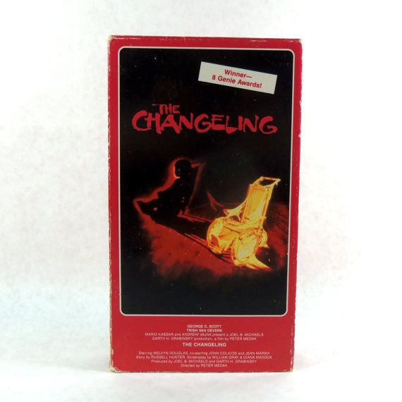 The Changeling VHS Horror 1995 by LeftHandPath on Etsy