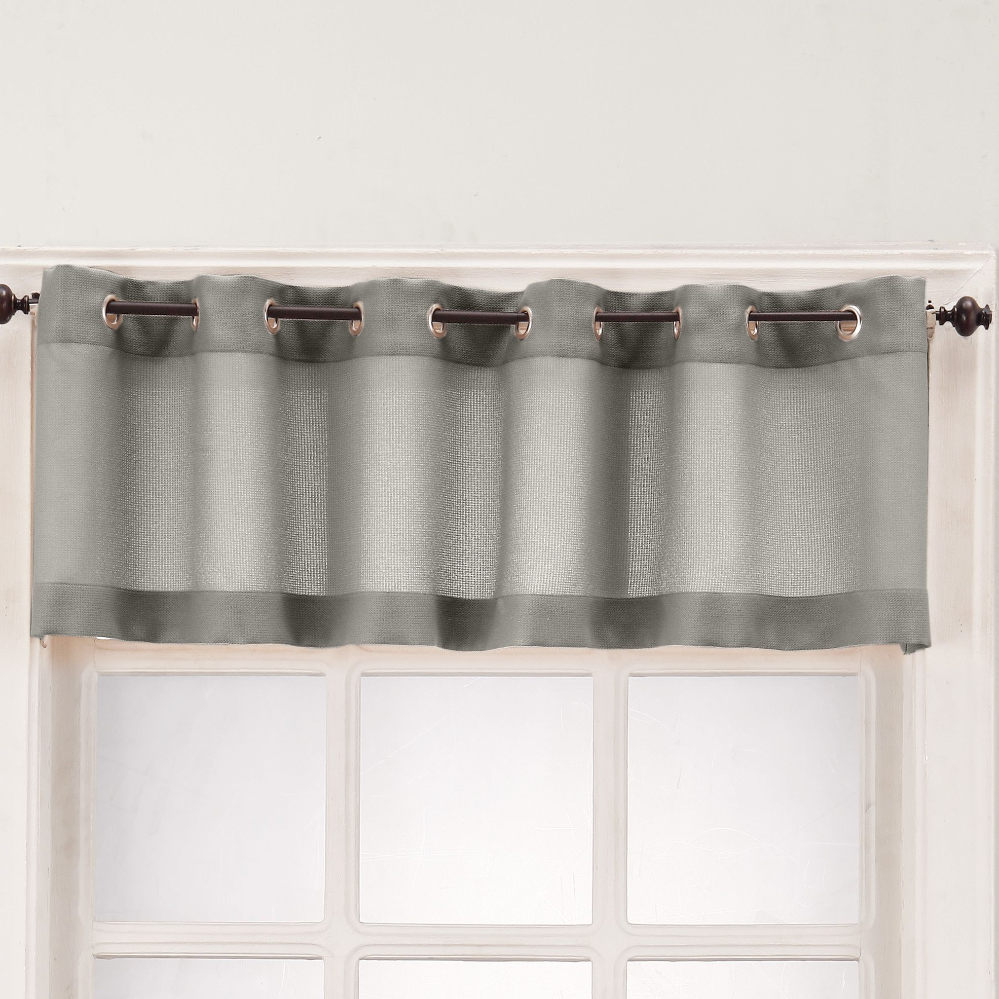 Maurice casual textured kitchen curtain valance products