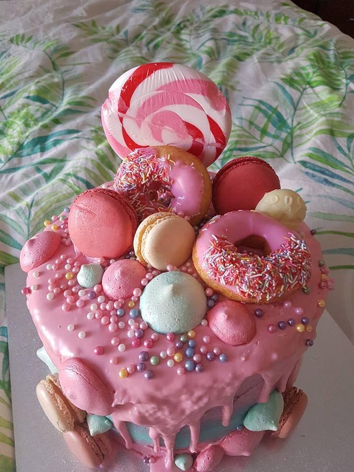 Candyland Lolly Decedant Indulgent cake by Bubblegum