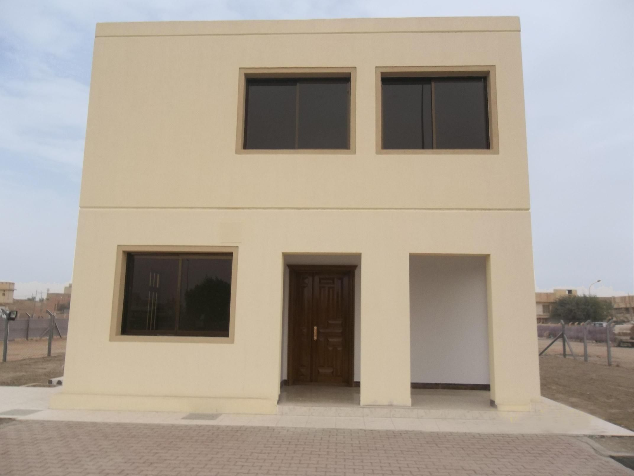 Modular Precast Concrete Villa Sustainable Strong Bb