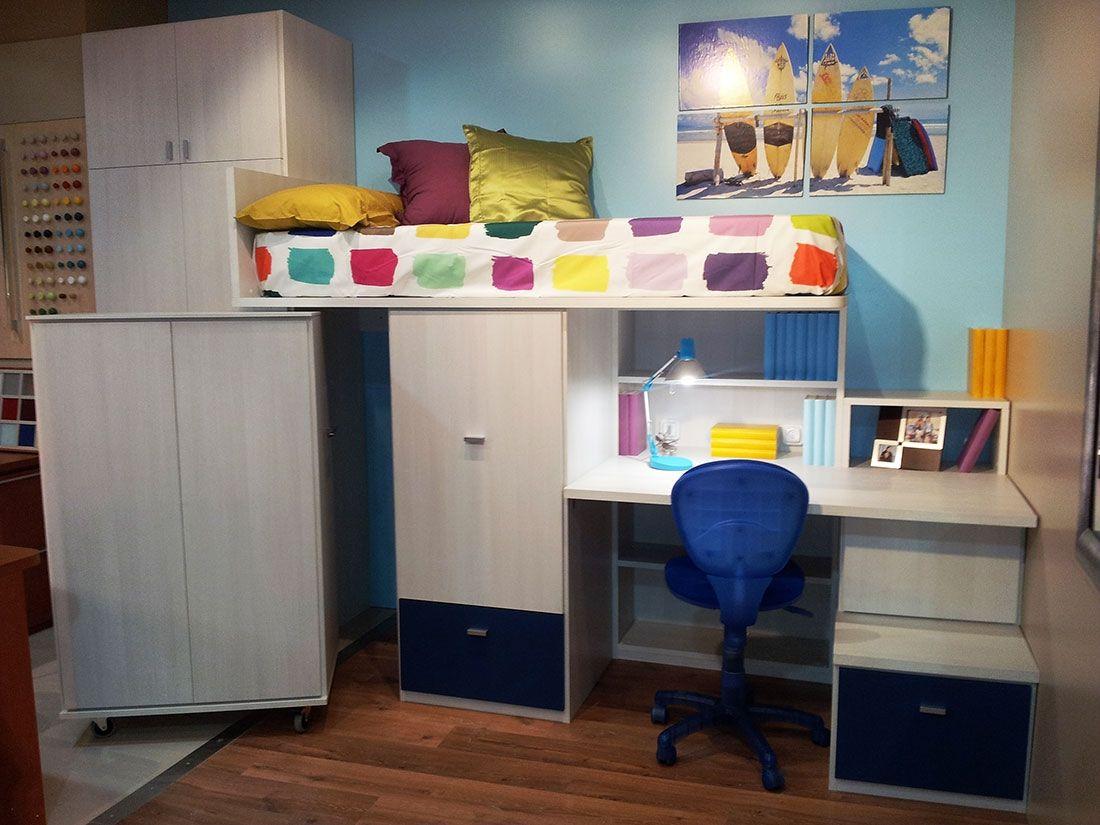 Una Habitaci N Infantil Con Gran Aprovechamiento Del Espacio Y  # Muebles Gustavo Martin