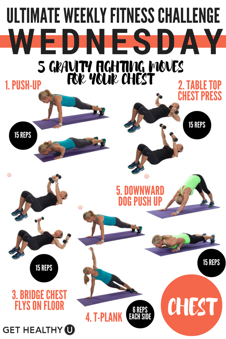 Ultimate Weekly Fitness Challenge Get Healthy U Workout Challenge Weekly Fitness Challenge Fitness Body