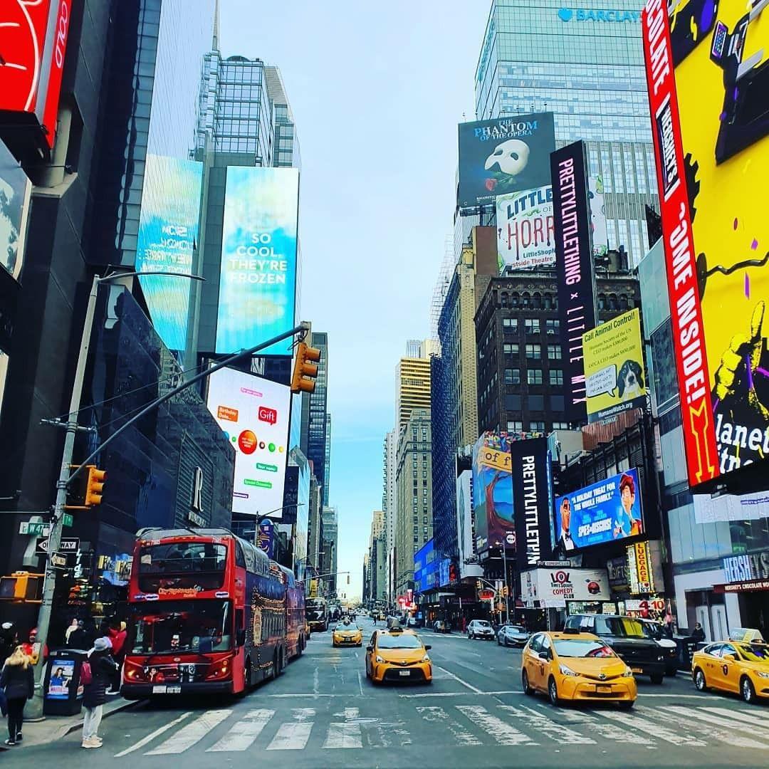 #newyork #nyc #christmasinnyc #timessquare