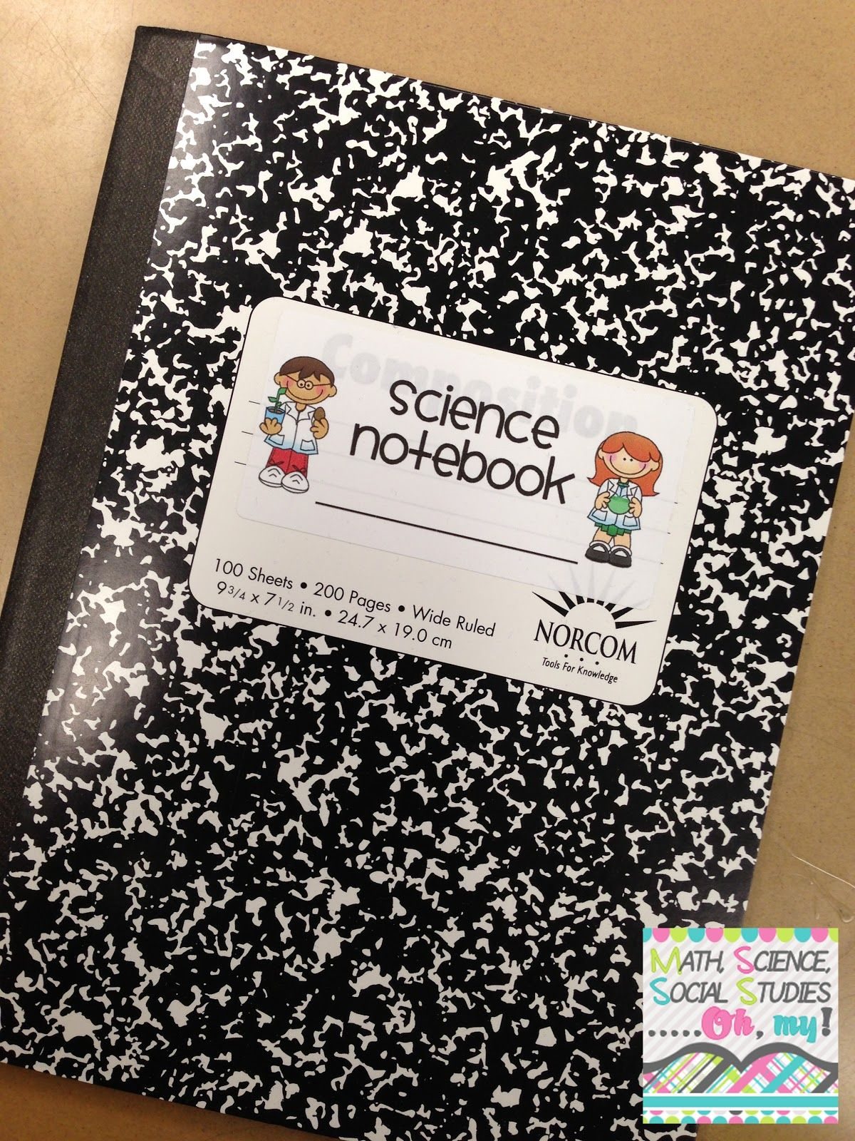 All Things Upper Elementary Science Notebooking