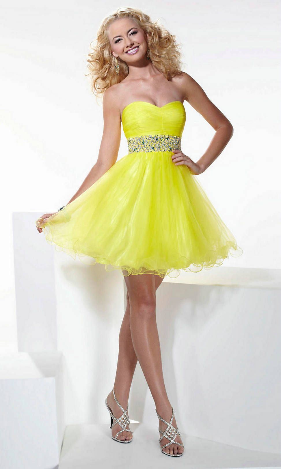 Prom dress- like the dress but the color wouldn\'t work on me ...