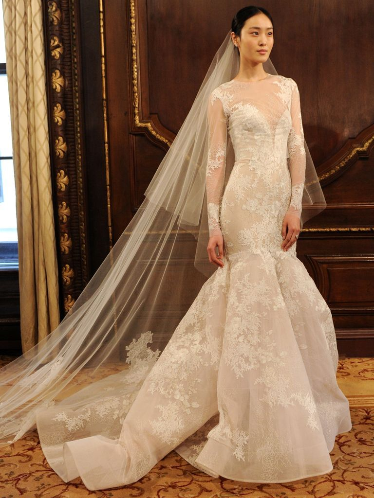 See Monique Lhuillier Wedding Dresses From Bridal Fashion Week Bridal Dresses Wedding Dresses Lace Best Wedding Dresses