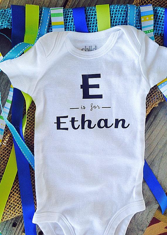Custom initial baby onesie personalized baby onesie unisex baby custom initial baby onesie personalized baby onesie unisex negle Choice Image