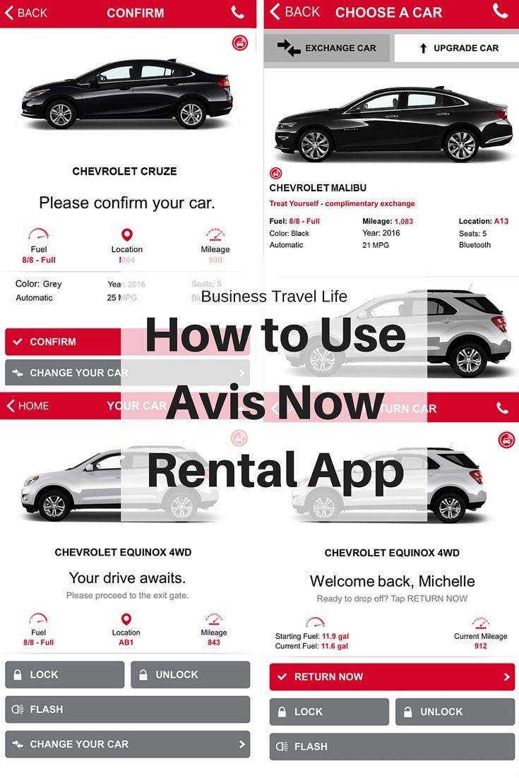 Avis Releases Avis Now App Business Travel Travel Life Travel