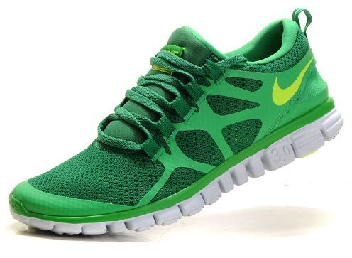 632c8dda0b8 Cheap Lucky Green Volt Nike Free 3.0 V3 Mens Running Shoe