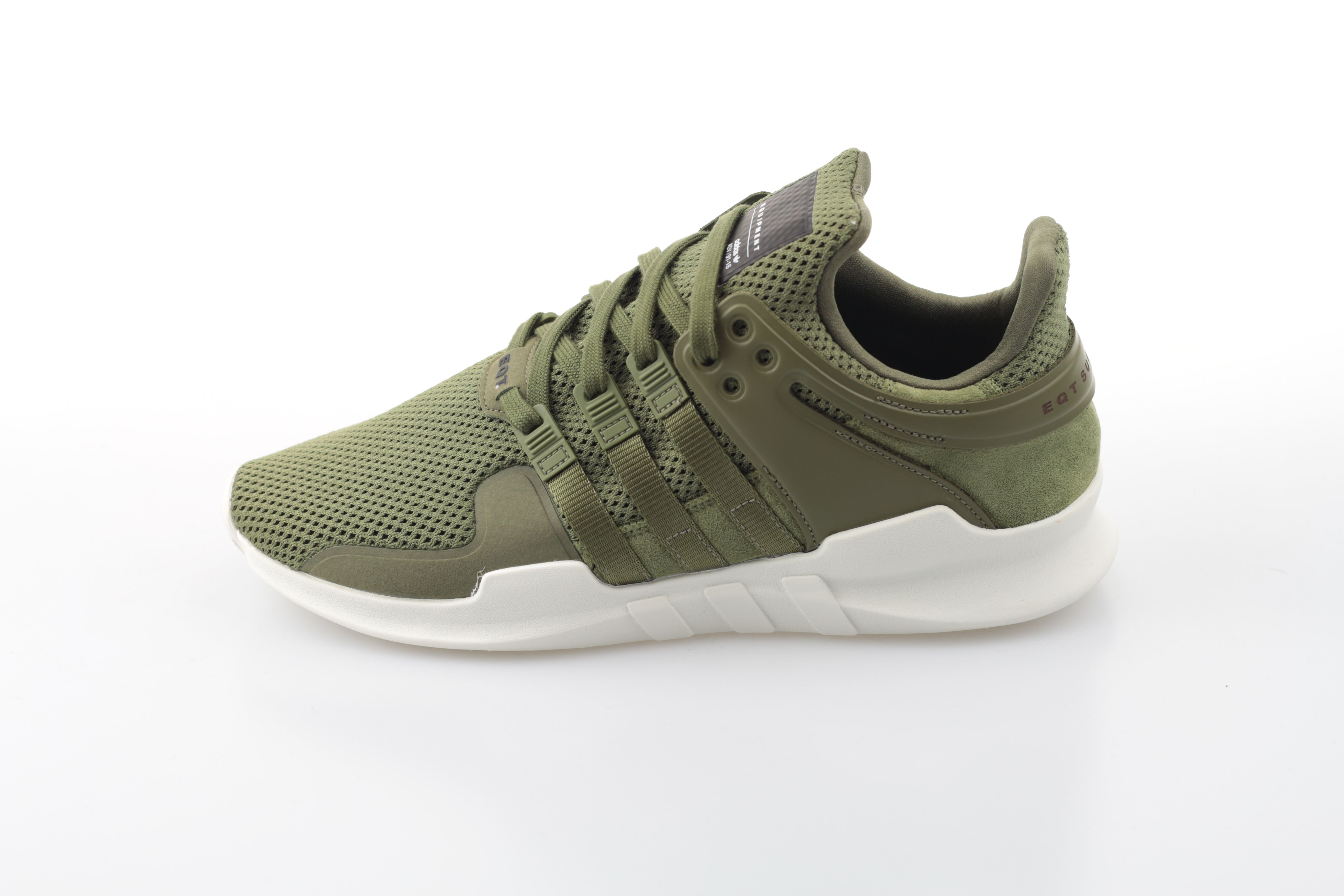 check out 1f87b 39427 adidas Equipment Support ADV 91-16 Farbe: Cargo Olive / Cargo Olice / Red  Material: Mesh