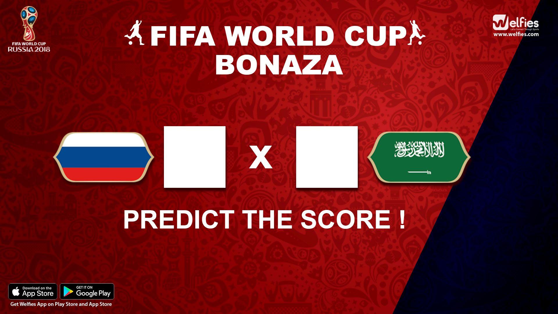 Russia Vs SaudiArabia Predict the scores!!! Who will win