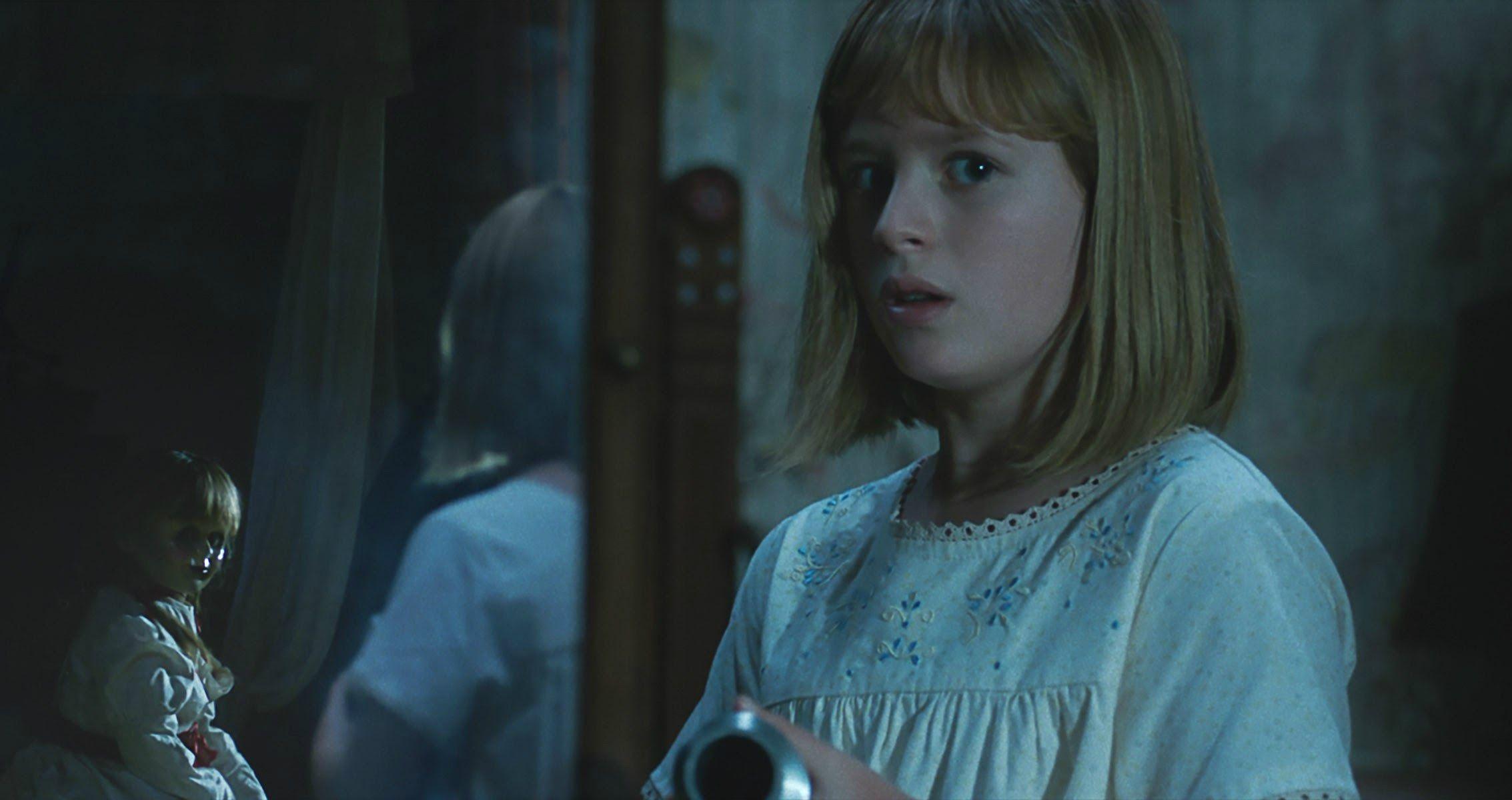 Warnerbros Released Scary Clips From David F Sandberg S New Horror Film Annabelle Creation Starring Talithabateman Luluwilson ゾッと 子役 ホラー クリエイション
